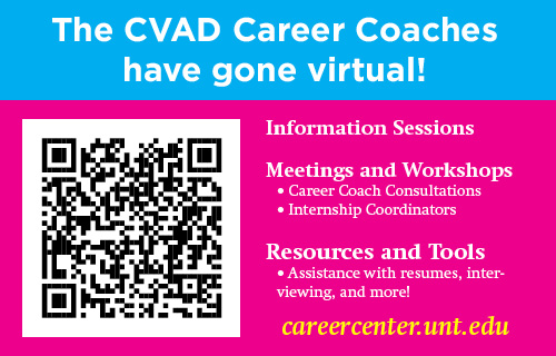 CVAD Career Center is now offering online appointments