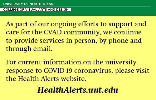 Notice to check HealthAlerts.unt.edu for updates
