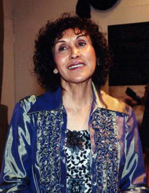 Photo taken in 2003 of Celia Munoz Alvarez