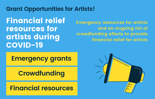Artists Coalition Grant information
