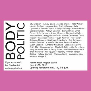 Body Politic, undergraduate figurative work