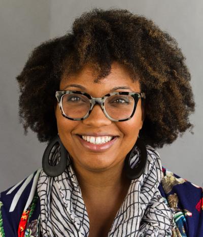 Lauren Cross, head and shoulders portrait
