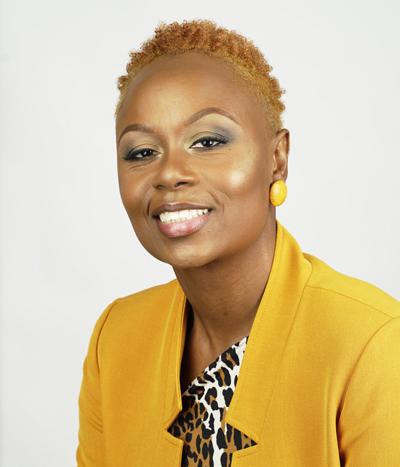 Tameka Ellington, head and shoulders portrait