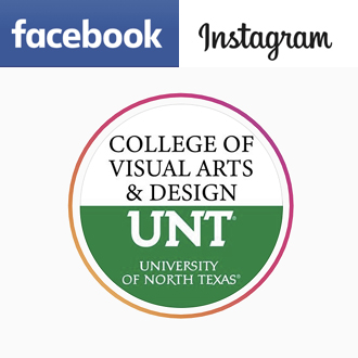 UNT CVAD links for Facebook and Instagram