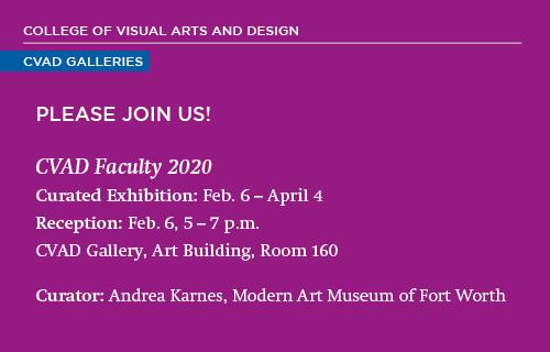 CVAD Faculty Exhibition 2020