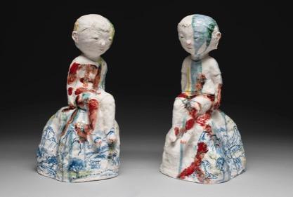 Beth Lo's ceramics figurines