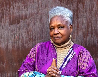 Vicki Meek, head and shoulders portrait