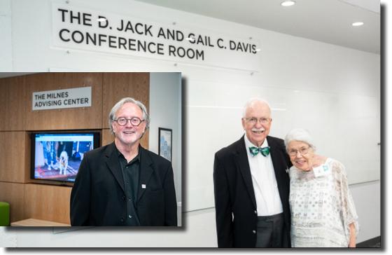 Robert Milnes, Jack Davis, Gail Davis