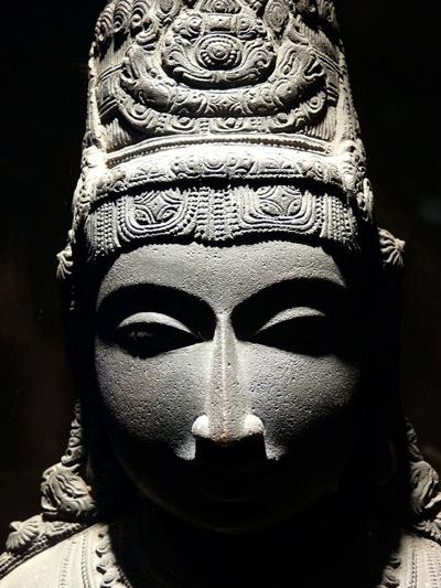 Indian Statue, photo by Lisa N. Owen