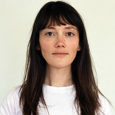 Allyson Packer, head and shoulders portrait