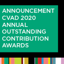 Announcement: CVAD 2020 Annual Outstanding Contribution Awards