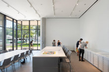 CVAD Art Gallery print study room