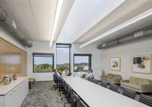 Art Building, 4th floor conference room