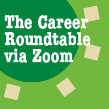 Career Roundtable via Zoom