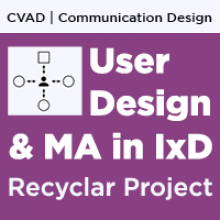 UNT CVAD User Design and MA in IxD Recyclar Student Project