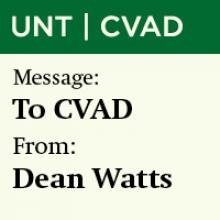 Memo from Dean Watts, July 2, 2020
