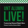 Alumni Live Event: Raised Right Men band