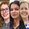 Nicole Foran, Manisha Sharma, Heidi Strobel