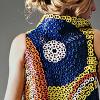 Eco-Pop dress by Li-Fen Anny Chang, CVAD associate professor