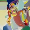 Trey Egan, MFA, painting detail