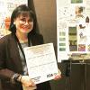 Amy New, CVAD Interior Design student