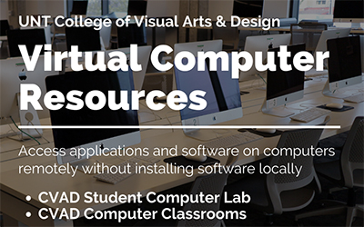 Access computer resources remotely through CVAD IT